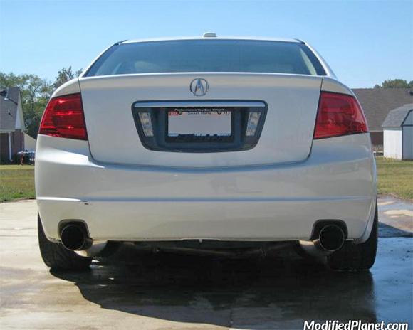 2005 acura tsx catback exhaust