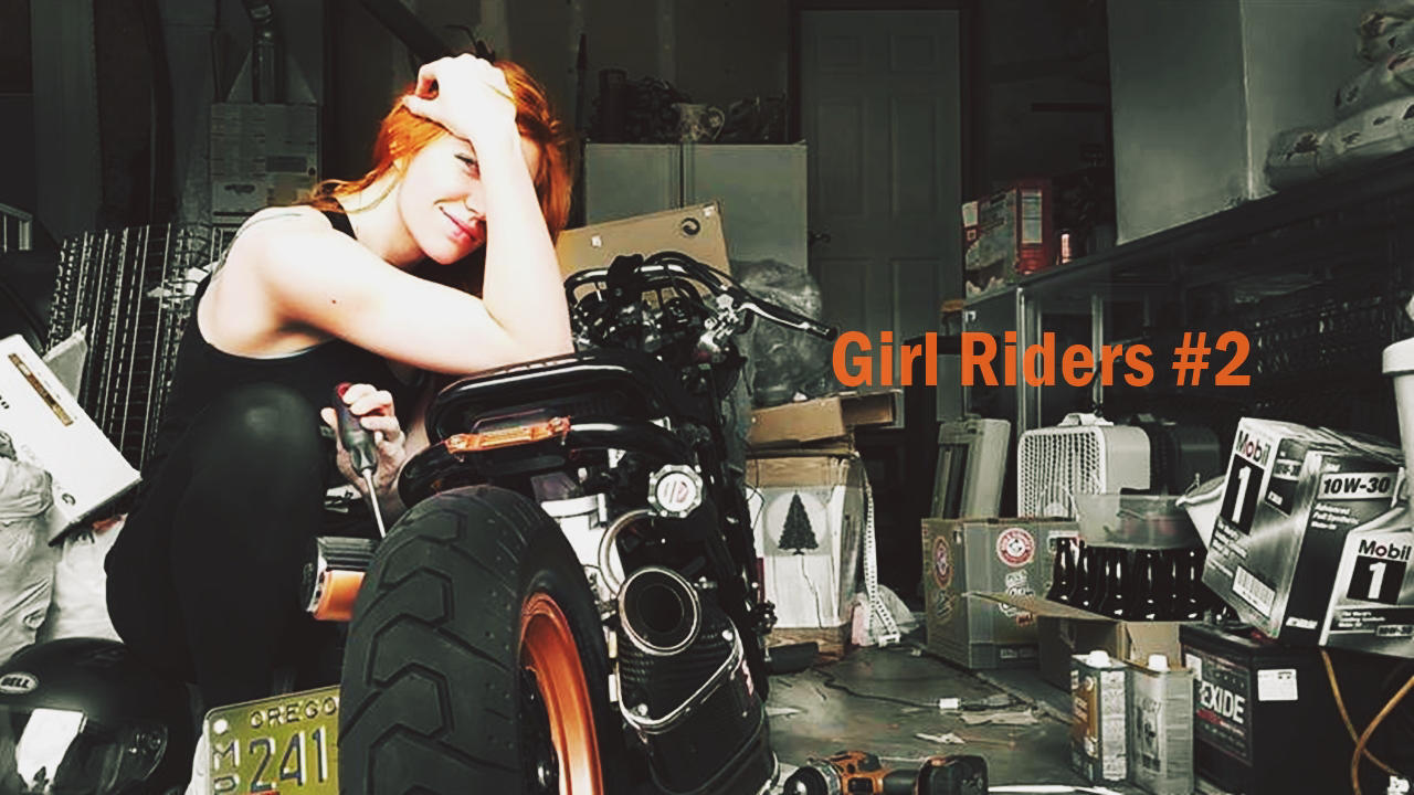 Girl Riders #2 | The rebels – 9 Stunning photos