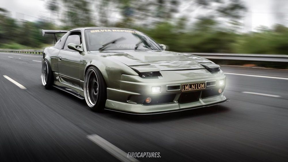 Clean Nissan S13 Wide Body Custom