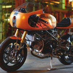 Modifikasi Motor Ducati Paul Smart 1000LE Gaya Cafe Racer