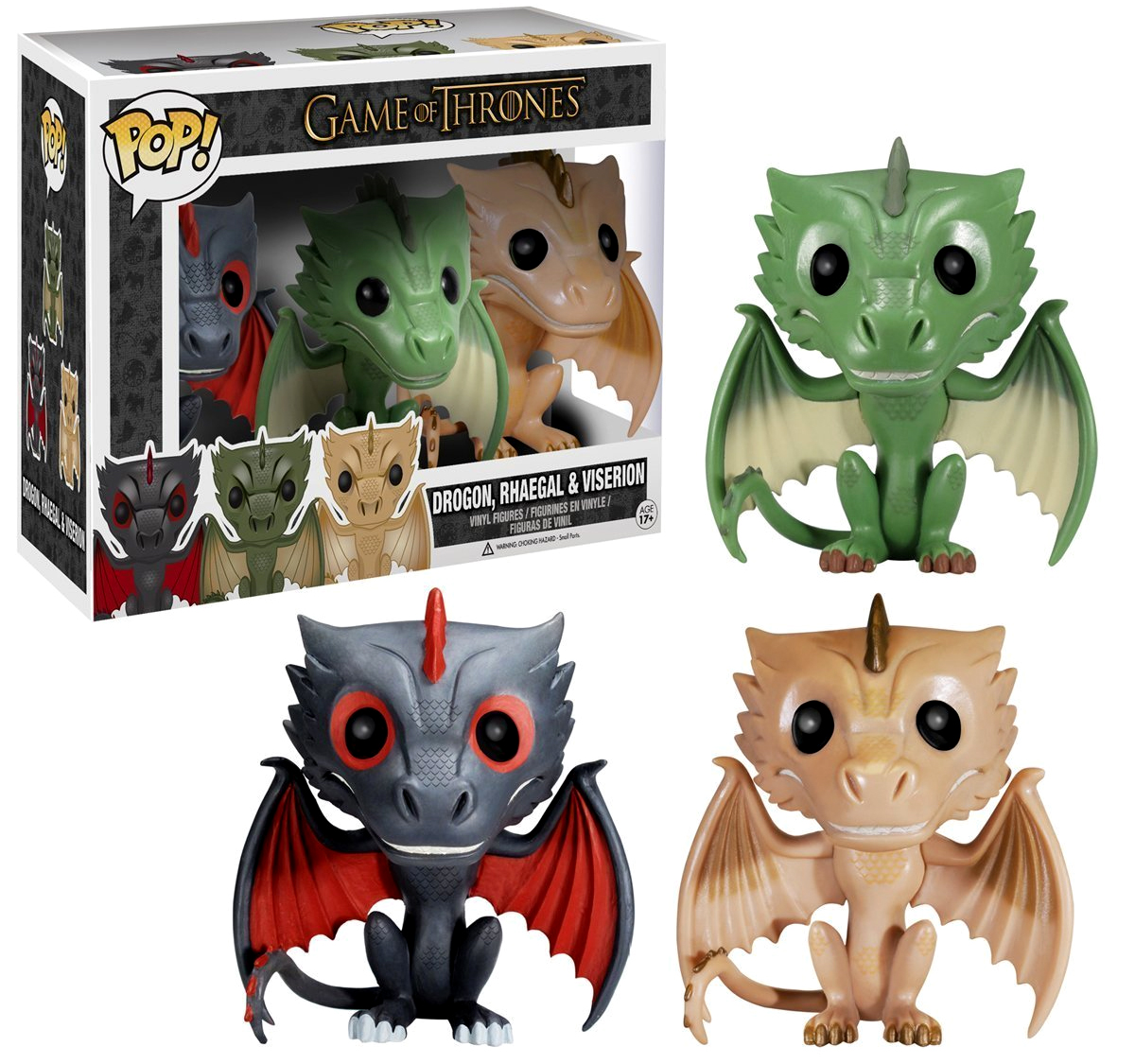Funko POP Game of Thrones Figure: Where are My Dragons