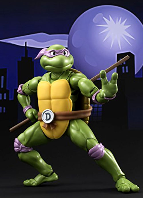 Bandai Tamashii Nations S.H. Figuarts Teenage Mutant Ninja Turtles Figures: Donatello