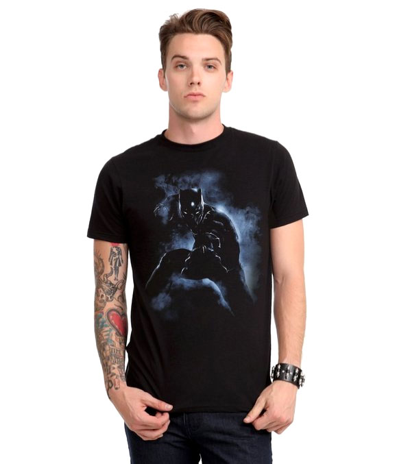 Marvel Captain America: Civil War Black Panther T-Shirt
