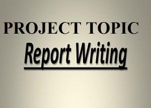 Project topics