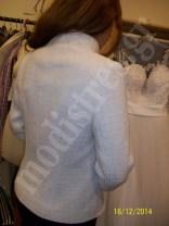 σακακι λευκο