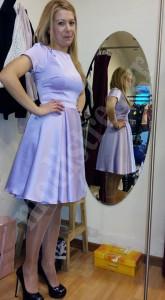Φόρεμα σατέν για γάμο