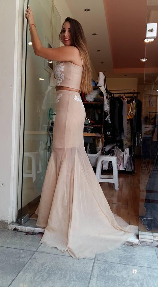 Φούστα μπούστο για γάμο - www.modistres.gr 1b9720a23db