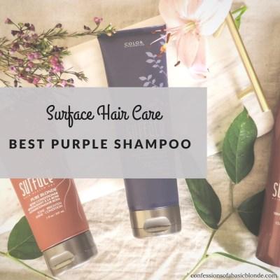 Best Purple Shampoo by Surface Hair