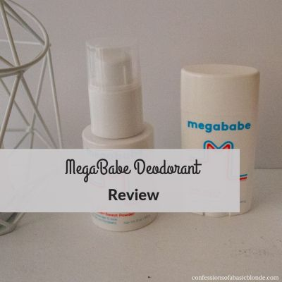 Megababe Deodorant Review