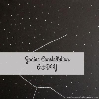 Constellation Canvas Art DIY