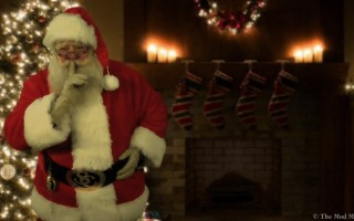 Make Christmas magical with Santa Caught on Tape {Plus holiday giveaway!}