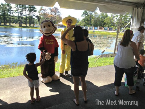 Curious George at Edaville USA