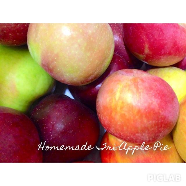 {Recipe} Tri-Apple Pie