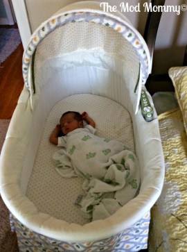 Summer Infant Soothe and Sleep with Motion Bassinet