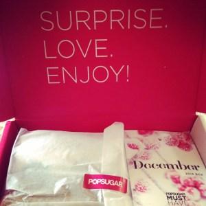 Serious sparkle inside POPSUGAR's December Must Have Box