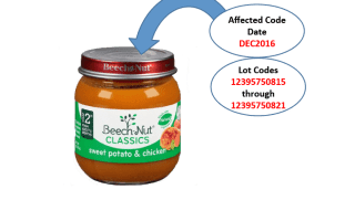 Recall: Beech-Nut recalls baby food after glass found in jar