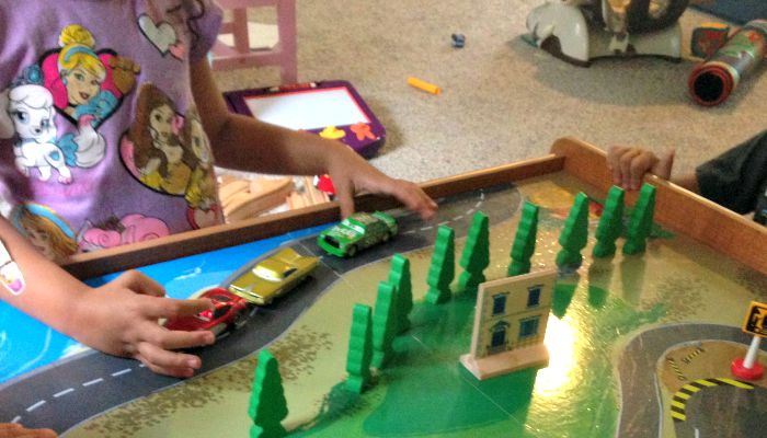 Bring Disney Pixar Cars to Life With DIY Racetrack