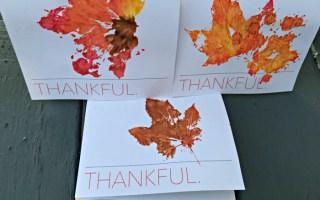 Free Thanksgiving Card Printable