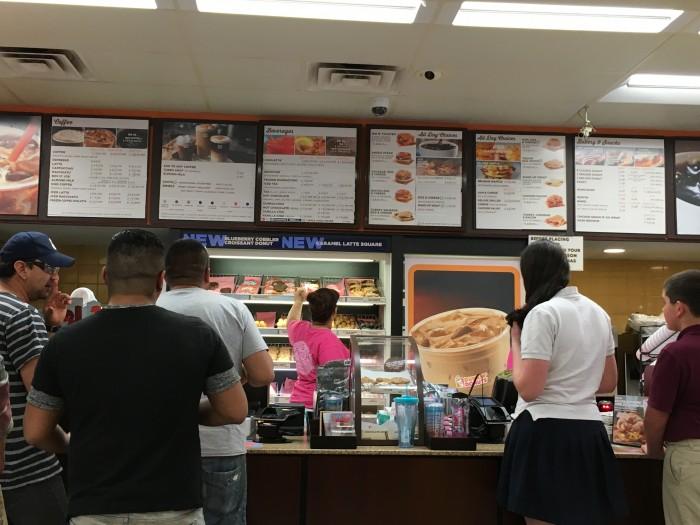dunkin donuts barrington