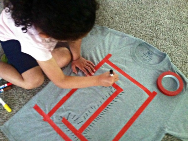 DIY: Toddler Made T-Shirt for Father's Day