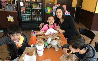 Celebrating Dunkin' Donuts Iced Coffee Day is a Family Tradition