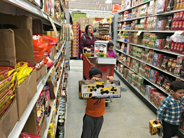 When you visit Ollie's Bargain Outlet in Woonsocket, Rhode Island you'll notice it's huge and might be surprised at the variety of departments to shop in.