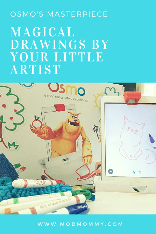 Last month, I was introduced to a company called Osmo. The kids are obsessed with their games, especially Masterpiece and Monster, and can't get enough. #PlayOsmo #ad