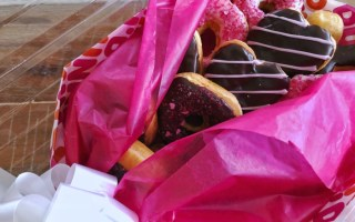 "I ""Chews"" You: Say I Love You With a DIY Dunkin' Donut Bouquet"