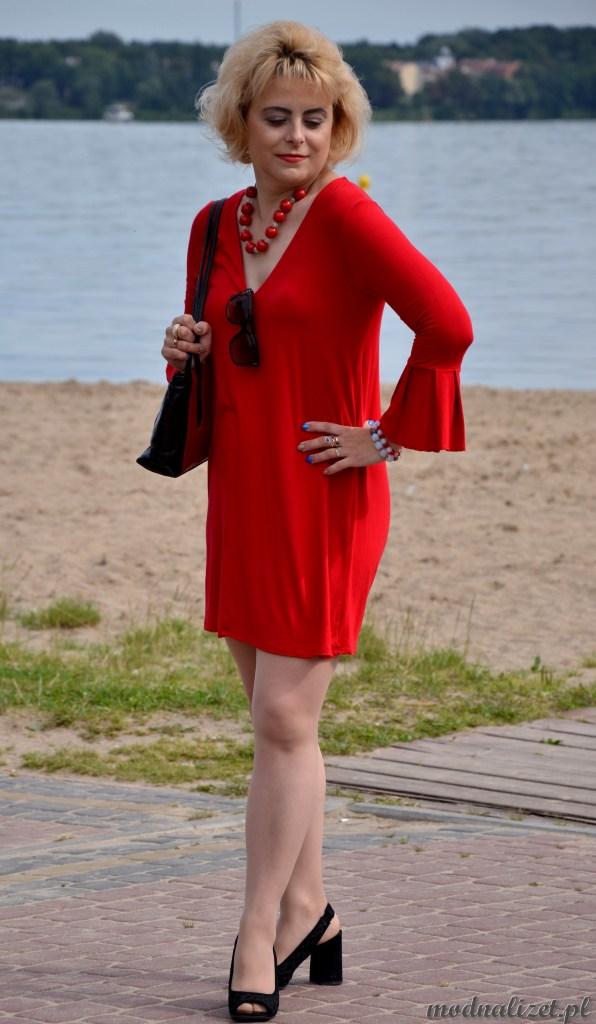Wakacyjna sukienka Modnej Lizet
