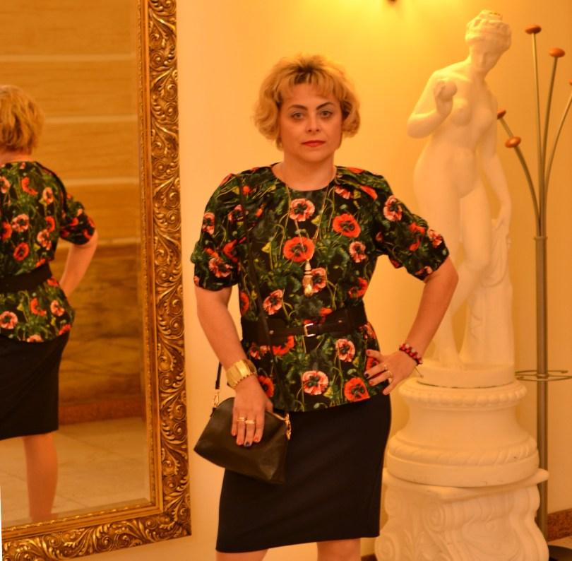 Romantyczna bluzka Modna Lizet