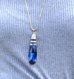 Niebieski kryształ