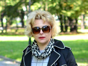 Elegancki płaszcz Modna Lizet
