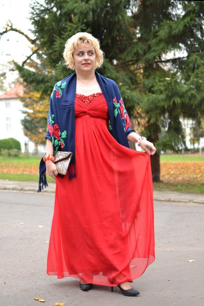 Balowa sukienka
