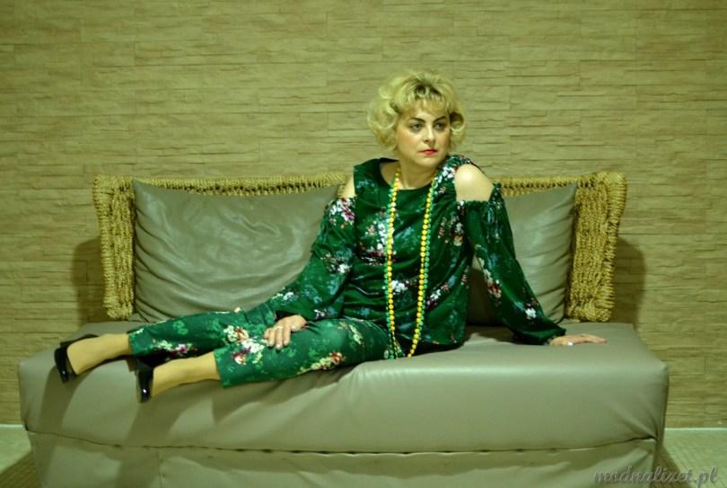 Modna Lizet zielona stylizacja