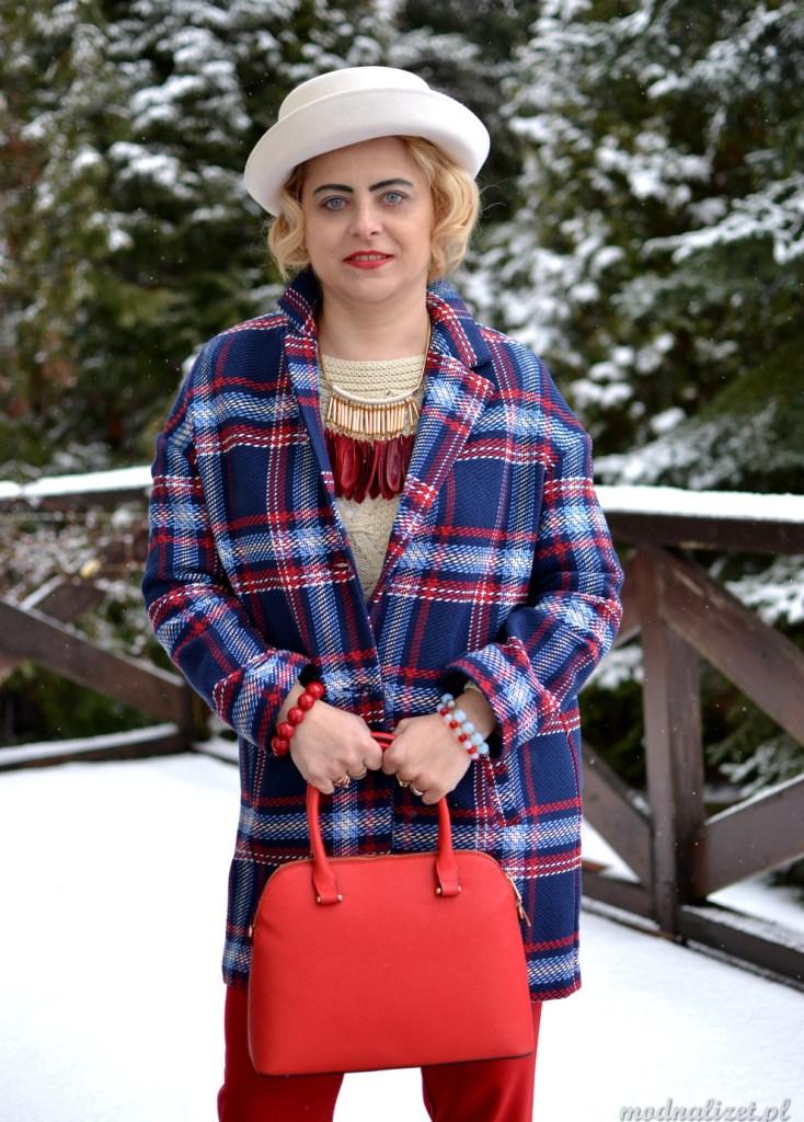 Zima w kratkę Modna Lizet