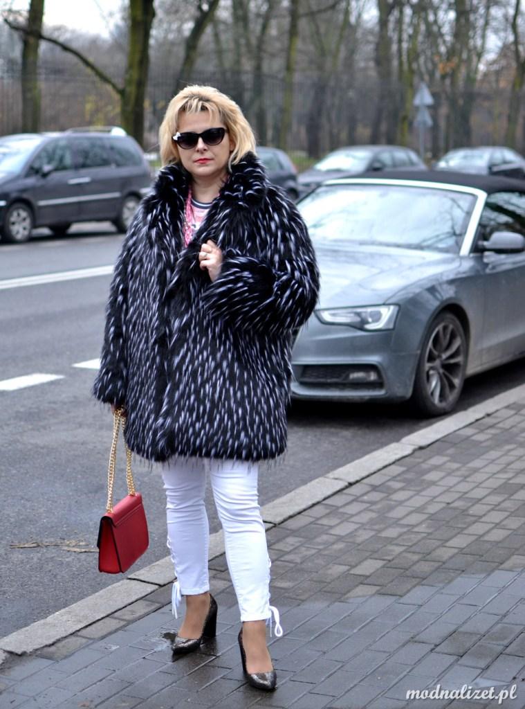 Modna Lizet białe spodnie