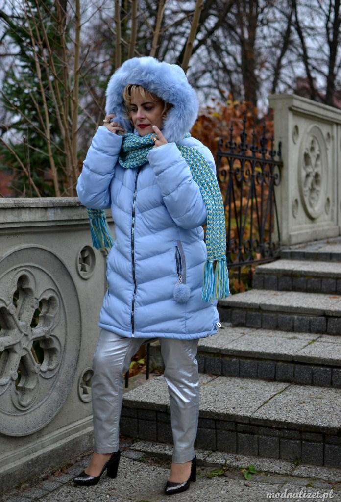 Błękitna kurtka