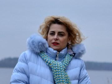 Modna Lizet zimowa kurtka