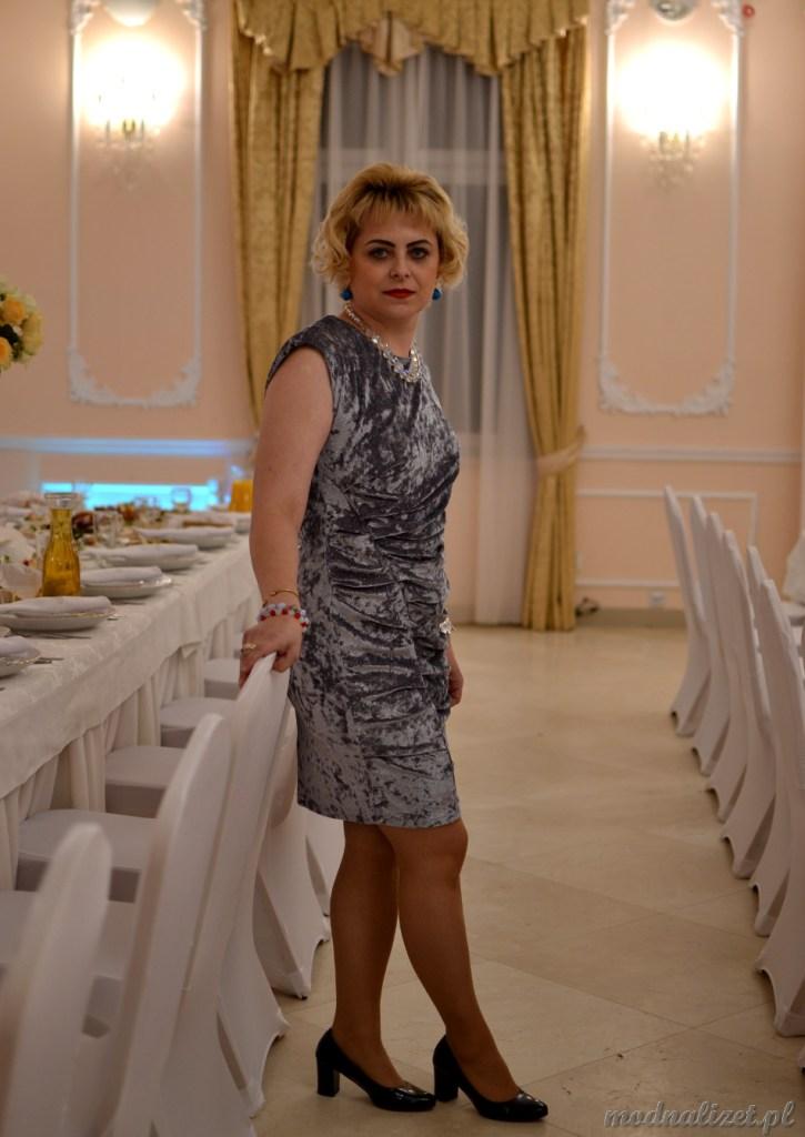 Sukienka wizytowa Modna Lizet