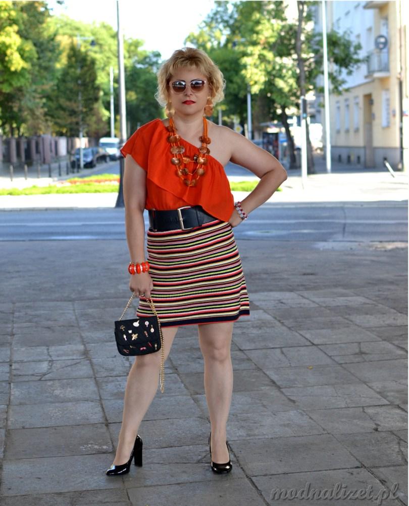 Kolorowa spódniczka Modna Lizet