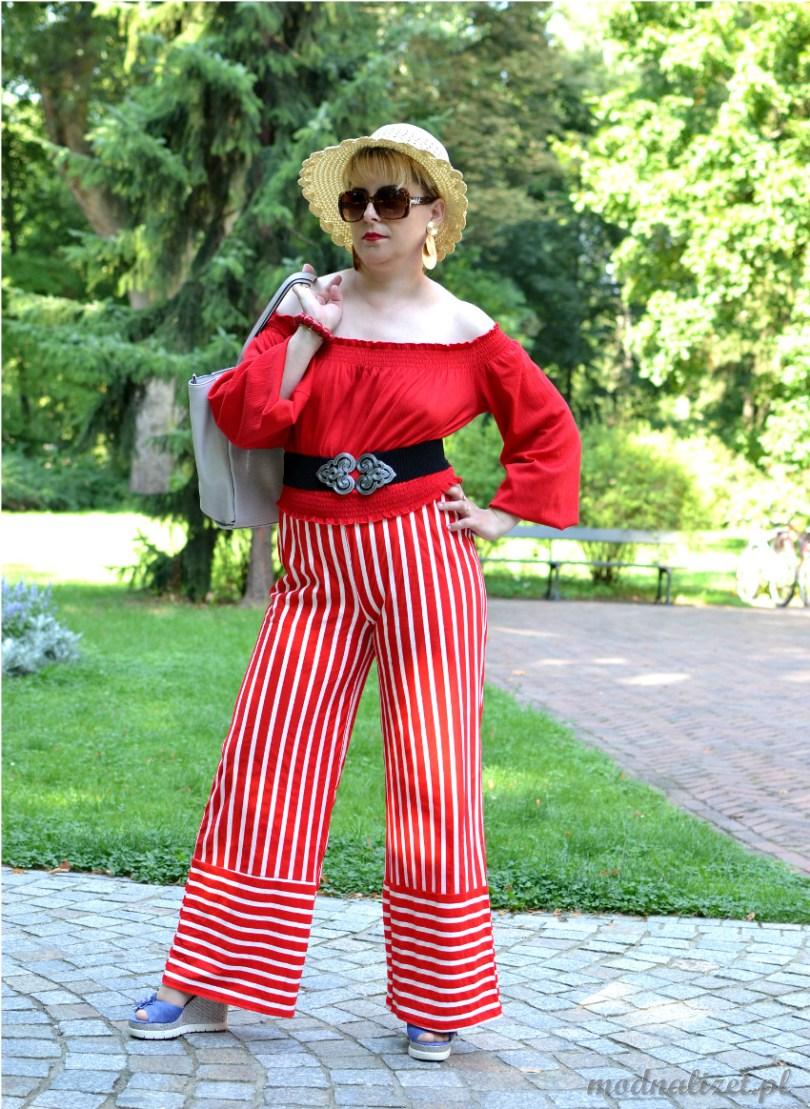 Bluzka i spodnie modna lizet