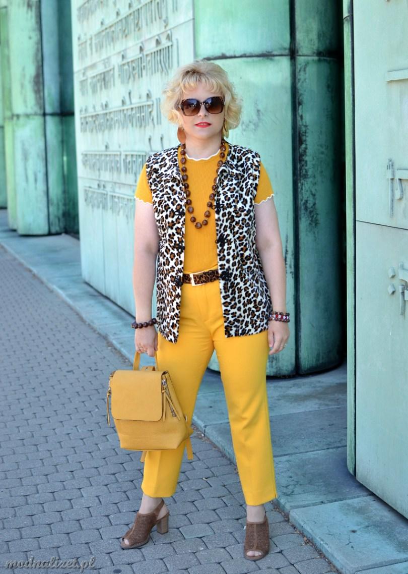 Żółty kolor trend