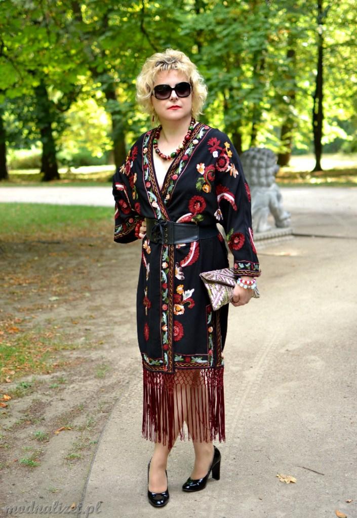 Kolorowe kimono