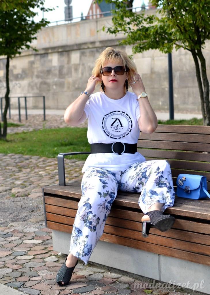 Biały T-shirt Zary