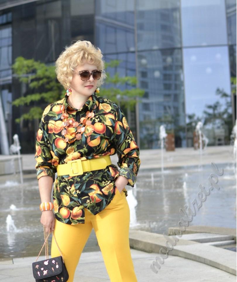Pomarańczowa moda