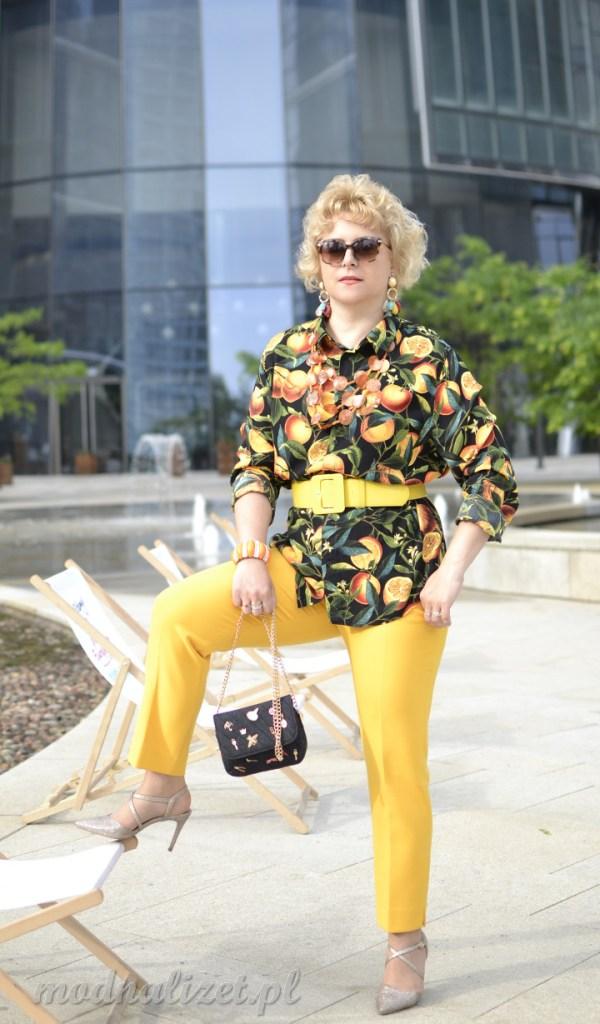 Zdrowa pmarańczowa moda