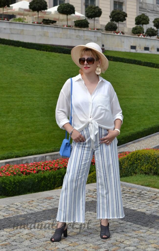 Elegancka dżinsowa stylizacja