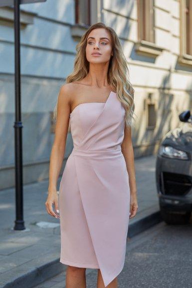 obleka-korzet-odprta-ramena-roza