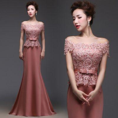 Вечернее платье на свадьбу для гостей и родственников