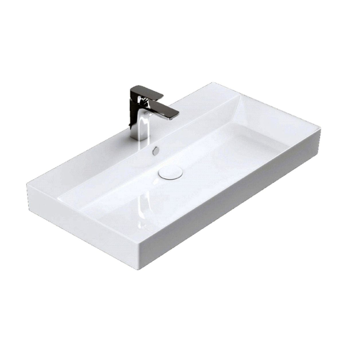 energy 85 ada compliant wall mounted bathroom sink in ceramic white 33 5